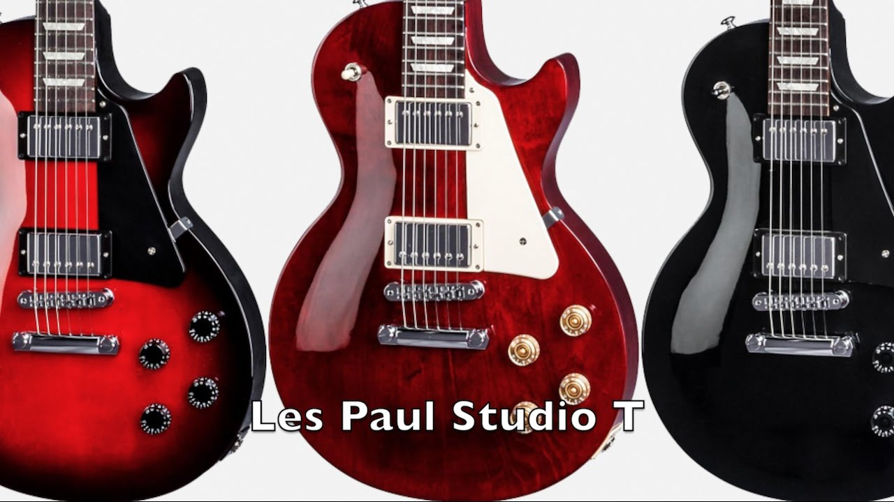 Gibson Les Paul Studio T 2017 Ebony