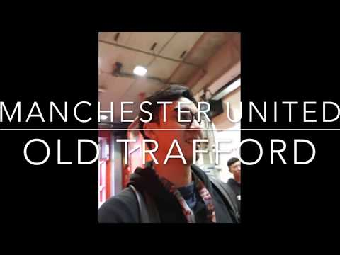 OLD TRAFFORD tunnel experience! (Stadium Tour)
