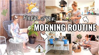 MORNING ROUTINE AT OUR ARIZONA FIXER UPPER!!☀️ WORK FROM HOME MOM ROUTINE 2020