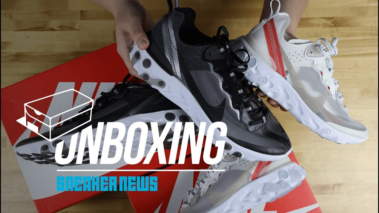 97262965293d5 Unboxing The Nike React Element 87 - YouTube