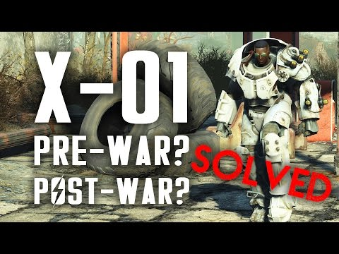 Solved! Was The X-01 Power Armor Built Before Or After The Great War? - Fallout 4 Lore