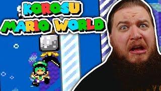 KAIZO. WASSER. GEHT ES KRASSER? - Korosu Mario World #3
