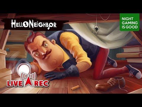 生放送!【Steam】幕3(攻略編)ですら怪しいおじさん「Hello Neighbor」