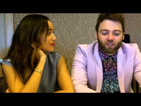 SDCC 2015:  Salem - Ashley Madekwe and Seth Gabel (Tituba, Cotton Mather)