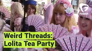 Cuteness, escapism, and lace monsters: my first Lolita tea party