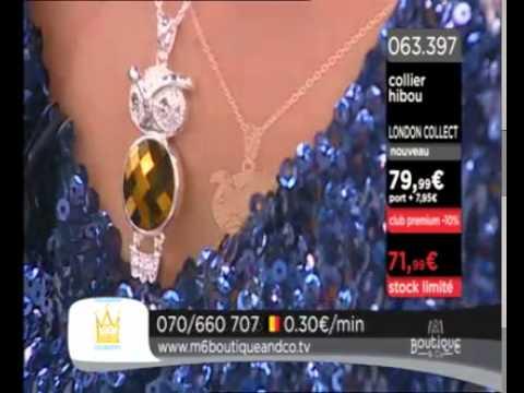 bas prix 61d13 5341f M6 BOUTIQUE TV ~ THE LONDON COLLECTION BIJOUX + MARTINE DiGBY