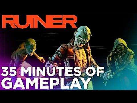 Ruiner: A Brutally Unforgiving Cyberpunk Shooter - GAMEPLAY Demo from PAX East