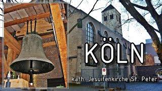KÖLN (D), kath. Jesuitenkirche St. Peter - Einzelläuten und Vollgeläute -