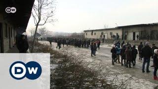 Flüchtlinge in Serbien fürchten den Kältetod | DW Reporter