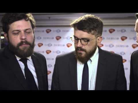 Bear's Den interview at the Ivors 2015