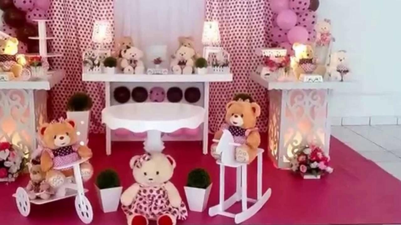 1c52938db8 Ideias decoração festa Ursinha Princesa - YouTube
