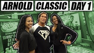 Arnold Classic Expo Day 1 | The Titan Mike O'Hearn Style