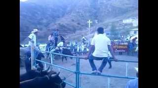 Jaripeo en Gpe de las Flores, San Antonino Monte Verde Oaxaca. 2014