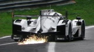 Porsche 919 Hybrid LMP1 High Speed Fly Bys & Sparks