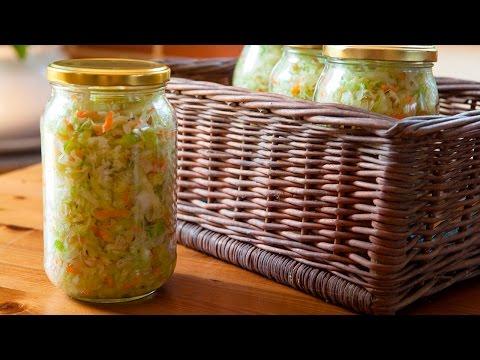 Cómo hacer chucrut casero (Sauerkraut)
