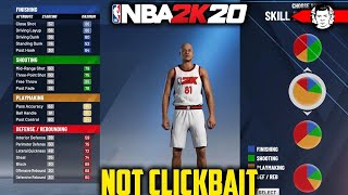 *NOT CLICKBAIT* Official NBA 2K20 MyPlayer Builder Breakdown - Watch BEFORE Demo!