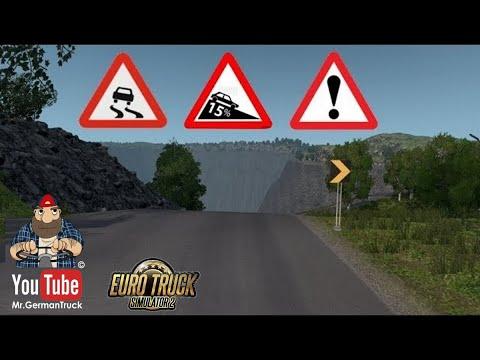 [ETS2 v1.36] Dangerous Roads – Map Hondulandia *gefährlichste Straße im ETS2* Part3