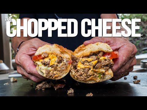 A CHOPPED CHEESE (BETTER THAN A PHILLY CHEESESTEAK?) | SAM THE COOKING GUY 4K