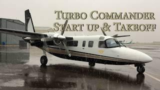 Turbo Commander - Start Up Procedures & Takeoff