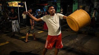 video: Myanmar sees largest anti-coup protests yet as army broadens internet crackdown