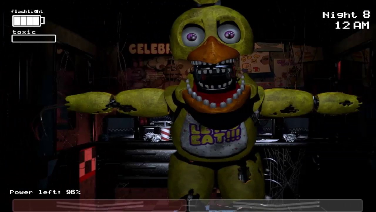 FNAF 3 Fan Made All Jumpscares