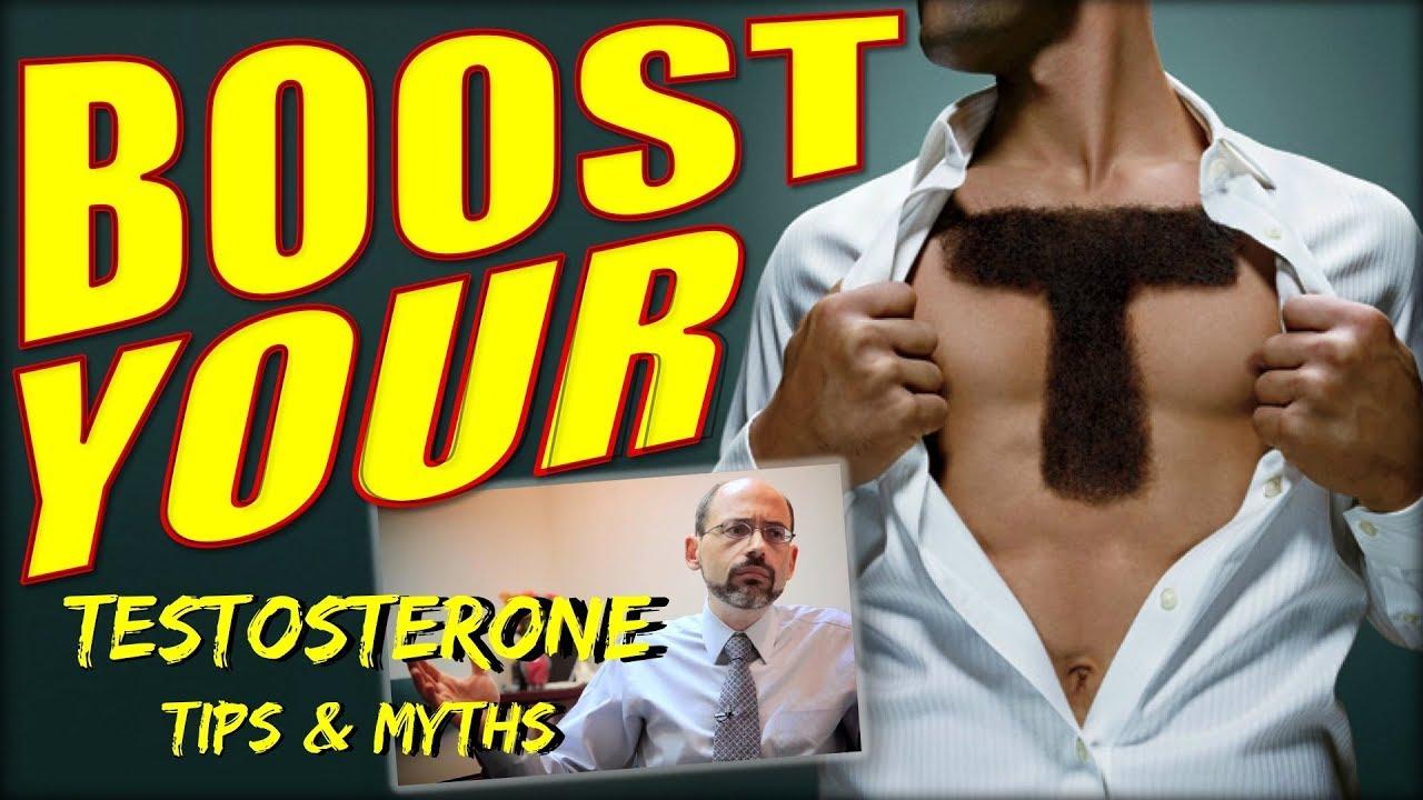 Testosterone Boosting Tips & Myths | Dr  Greger