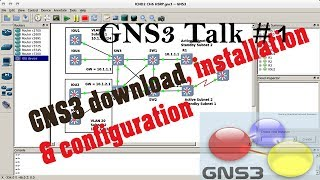 GNS 3 Talk 1 # Downloading, Installing & Configuring of GNS3 in Hindi By apnet india