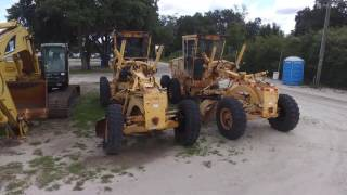 Row 1 Heavy Equipment July 2016