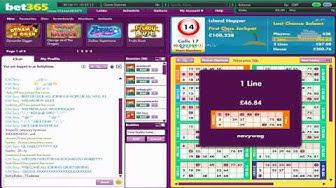 Bet365 Bingo - Game In Play