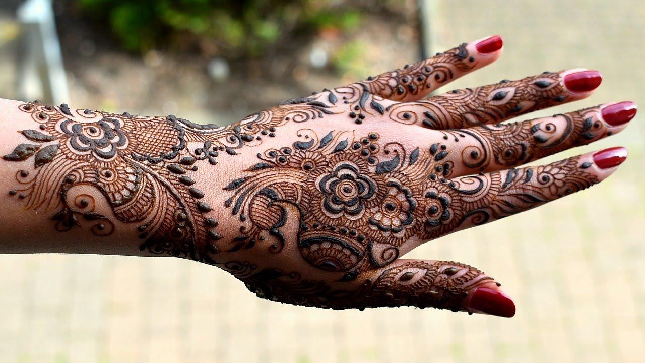 50 intricate henna tattoo designs art and design 50 - Detailed Bridal Henna Mehendi Design Step By Step Tutorial