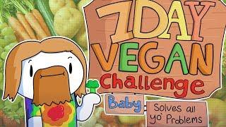 7-дневный Веган Челлендж, Детка | 7 Day Vegan Challenge Baby ( TheOdd1sOut на русском ) | Перевод