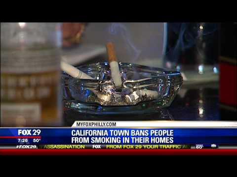 California Town Bans Smoking In Your Own Homes