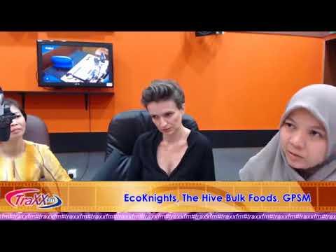 Traxx FM Interview with Yasmin Rasyid, Claire Sancelot and Mariani Bam Ramli
