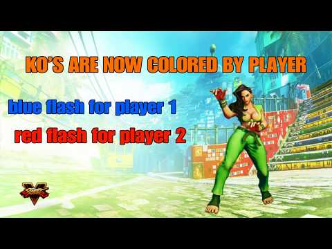 Cool Things You Didn't Know That Are in SFV Arcade Edition