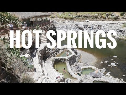 Colca Canyon Hot Springs