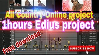 1hours edius online Wedding song project free download by:-srk video mixing point