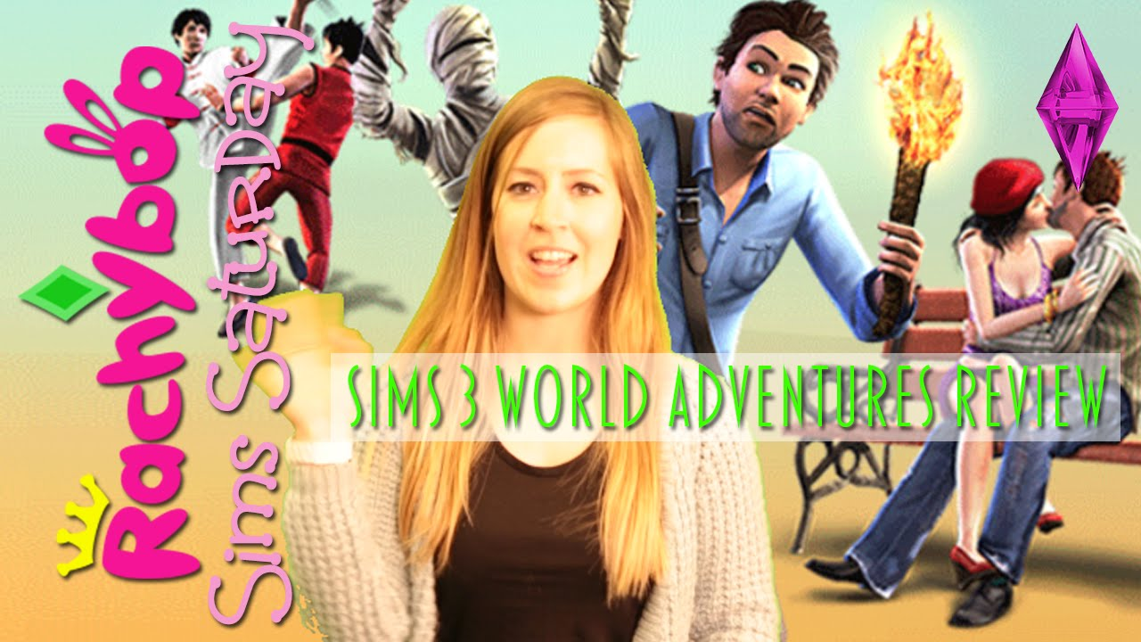 the sims 3 world adventures expansion pack review rachybop youtube