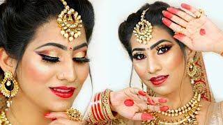 RAP Song Waala BRIDAL Makeup .. | #Indian #Tutorial #Bride #Budget #Wedding #LafanGAY #Anaysa