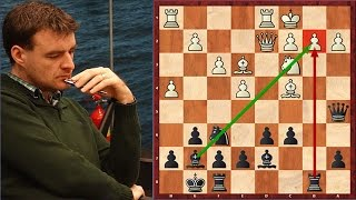 Every Chess Player Should Know This! Trap In Dragon Variation With A Queen Sacrifice