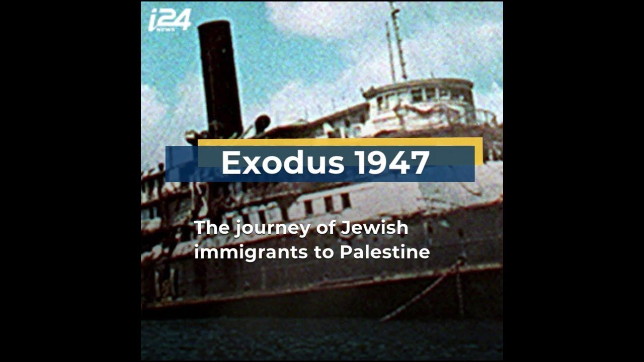 Remembering the voyage of the SS Exodus