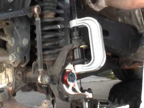 Jeep JK Ball Joint Installation - Part 2 of 2 Install ...