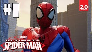 Ultimate Spider-Man - Part 1 (Dark Days Ahead, Trapped Like Sardines) Disney Infinity 2.0