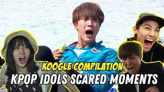 K-Pop Idols' Funniest Scared Moments | KPOP COMPILATION