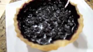 Dry Baking A Blueberry Pie By Flat Cat Gear