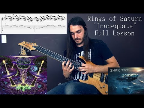 Miles Dimitri Baker - Rings of Saturn - Inadequate Full Lesson