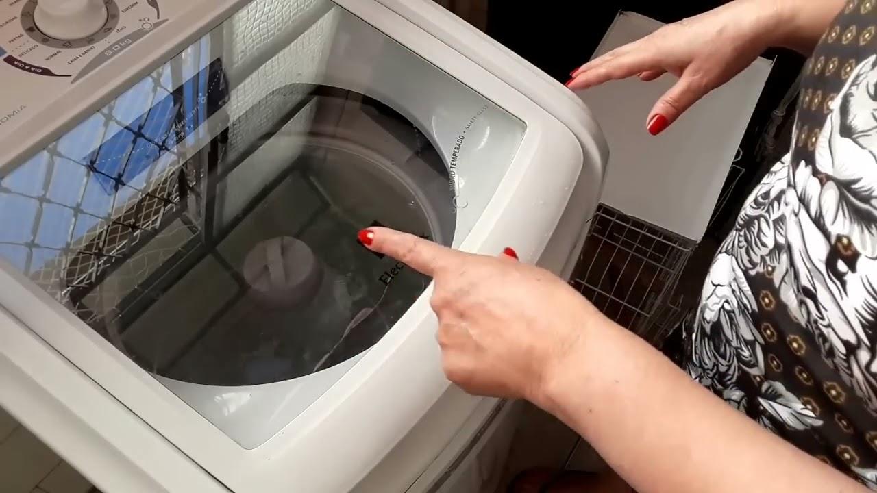 Como limpar maquina de lavar eletrolux