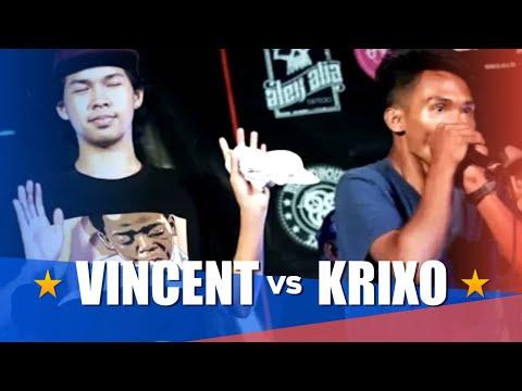 Philippine Beatbox Battle   VINCENT vs KRIXO   Semi-Finals