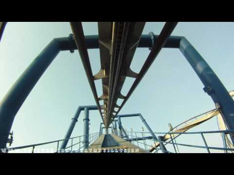 AfterBurn On-ride Front Seat (HD POV) Carowinds