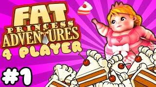 Fat Princess Adventures - #1 - Power to Poultrify (4 Player Gameplay)