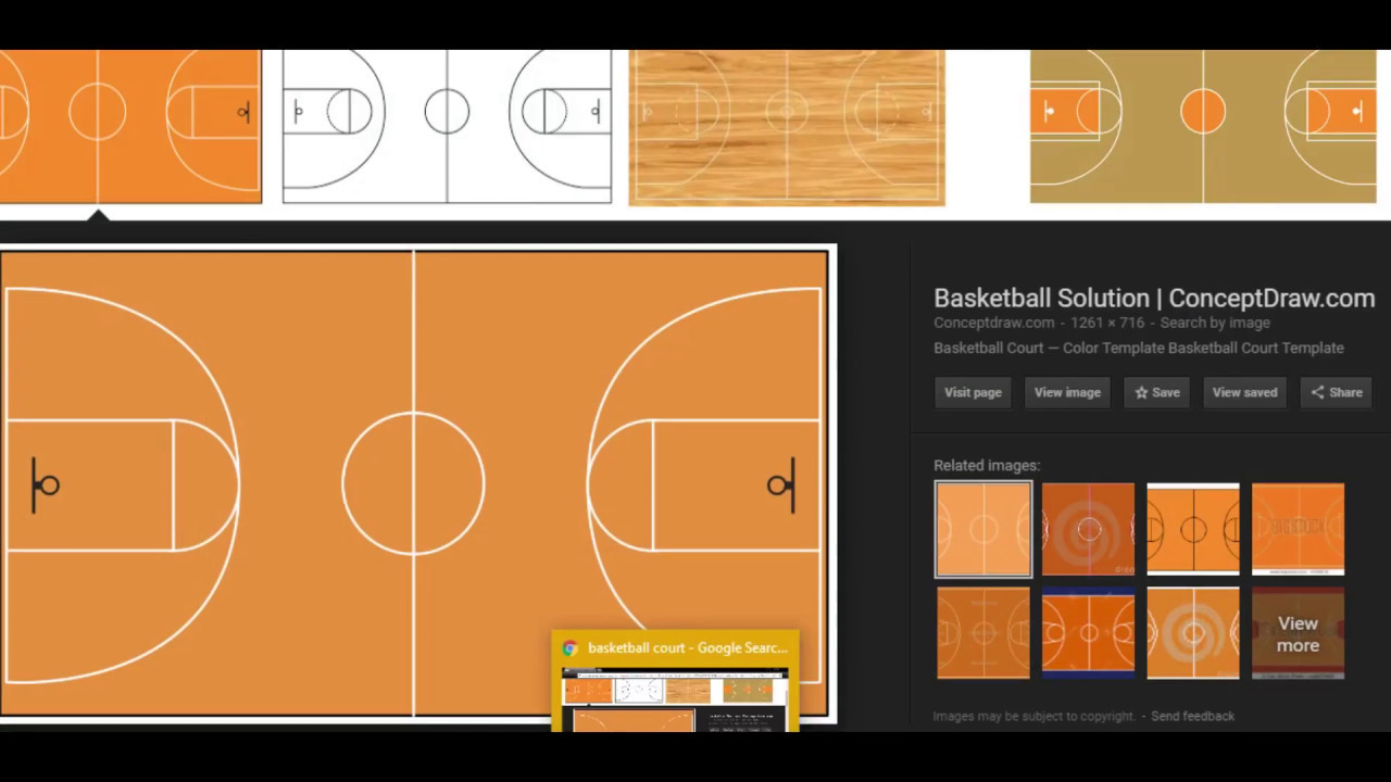 Basketball Court Speed Build Sketchup Youtube